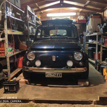 La Fiat 500 di Luca