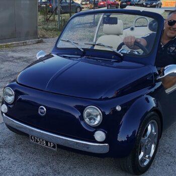 La Fiat 500 di Denis De Michele