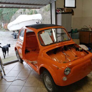 La Fiat 500 di Lukyluciano