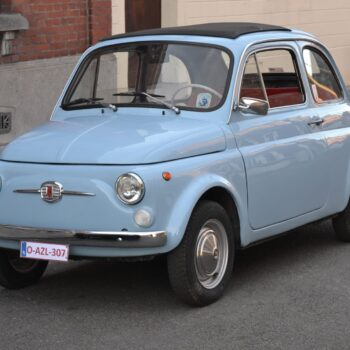 La Fiat 500 di Salvatore Lombardo