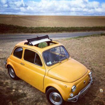 La Fiat 500 di Elletre