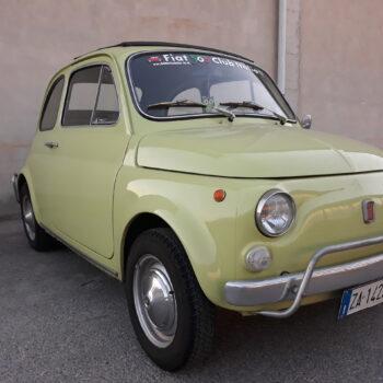 La Fiat 500 di Monellik