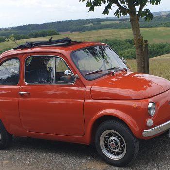 La Fiat 500 di Chris