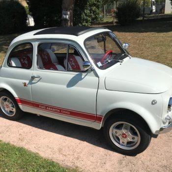 La Fiat 500 di Patrice MARCOU